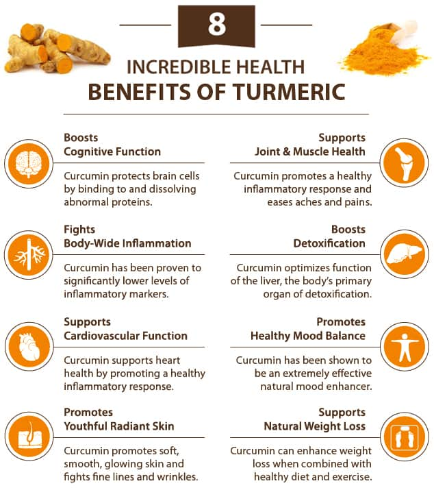 What health benefits does turmeric offer?
