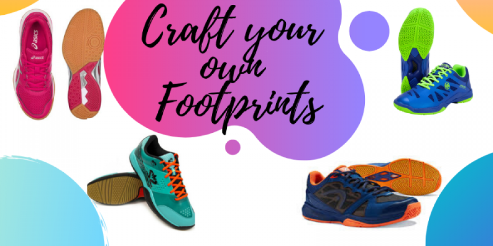 Craft your own footprints