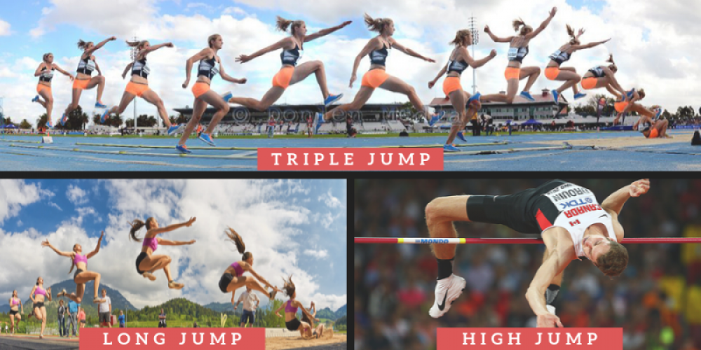 different jumping events