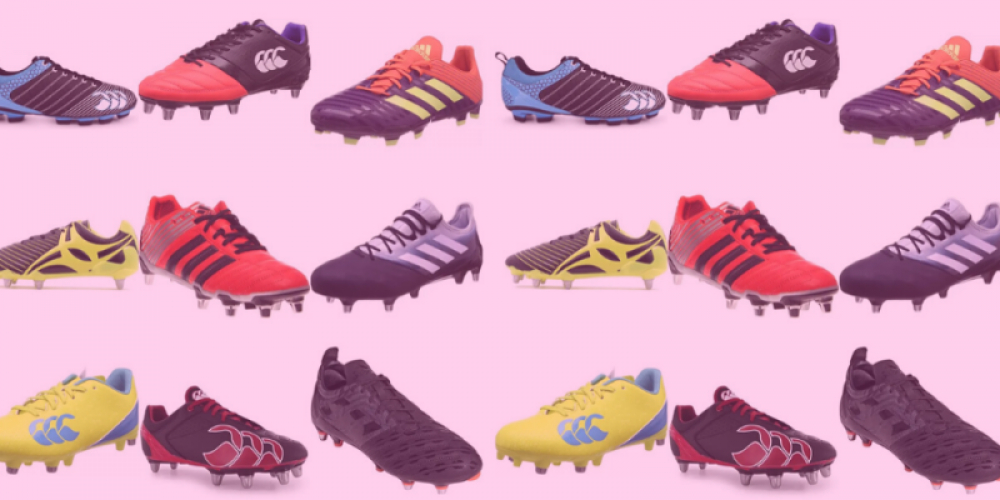 rugby boots different design