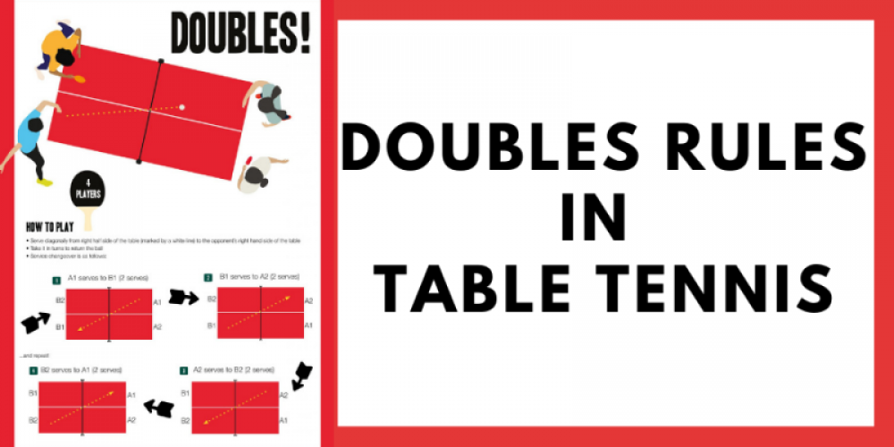 double rules in table tennis